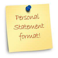 Admissions Essays - personal statement, admission and